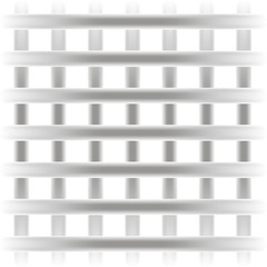 gray square grille texture background straight steel