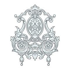 Frame Ornament vector