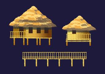 bungalows set