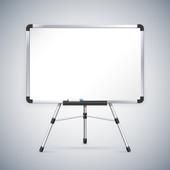 Office Whiteboard on Tripod
