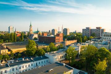 Obraz Miasto Łódź, Polska - fototapety do salonu
