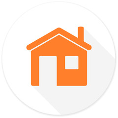 house flat design modern icon