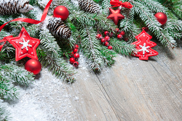 Wall Mural - Christmas background