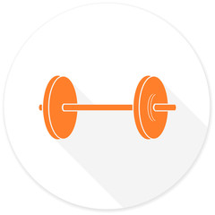 fitness flat design modern icon