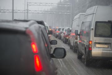 Непогода на трассе