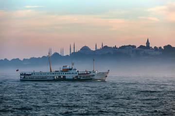 foggy Istanbul