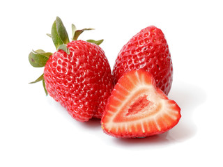 Isolated Strawberry