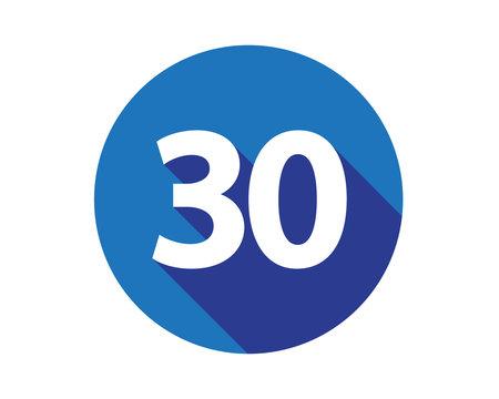 30 calendar number