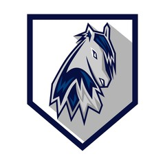 Horses Logo Template