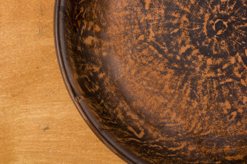 Original clay dish