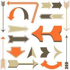 Retro Arrow Designs