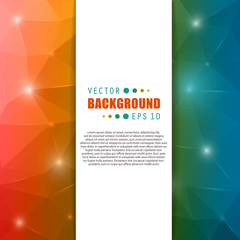 Abstract Creative concept vector booklet list for Web and Mobile
