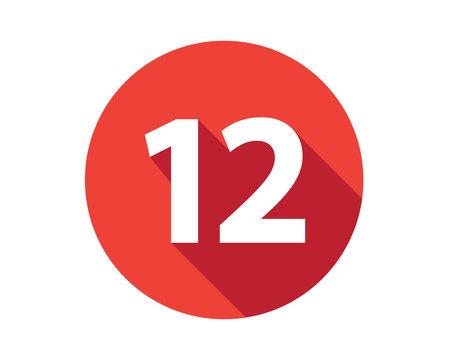 12 calendar holiday number