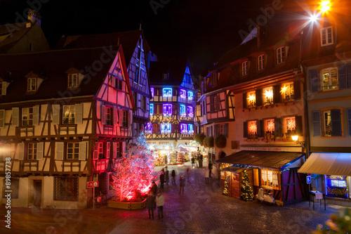 Colmar Weihnachtsmarkt.Weihnachtsmarkt In Colmar Stock Photo And Royalty Free Images On