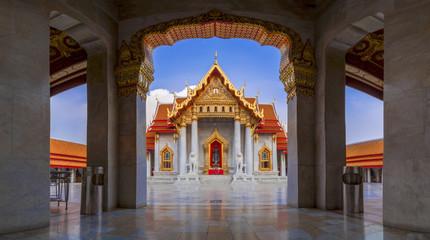Wat Benchamabophit or Wat Ben in short is a marble temple in Bangkok