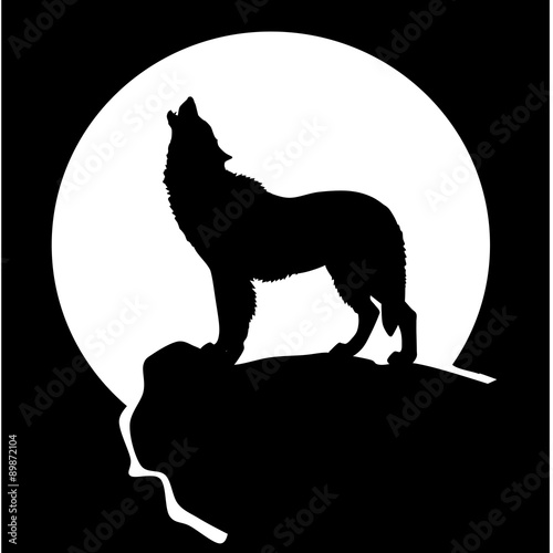 The gallery for --> Wolf Moon Silhouette Monifah Daughter