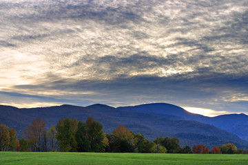 Vermont countryside ..