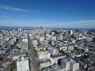 Aerial photo of San Francisco California