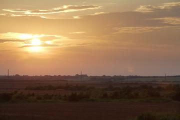 Image of a beautiful sunset