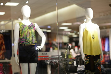 Mannequins in modern fashion