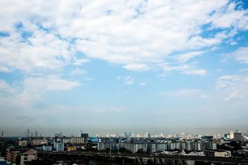 Aerial Views in Bangkok Thailand