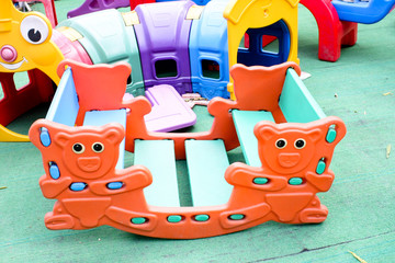 Colorful Children Toy Tool Playground