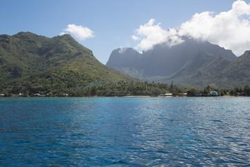 Paesaggio Polinesia