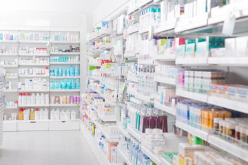 Photo sur Plexiglas Pharmacie Pharmacy Interior