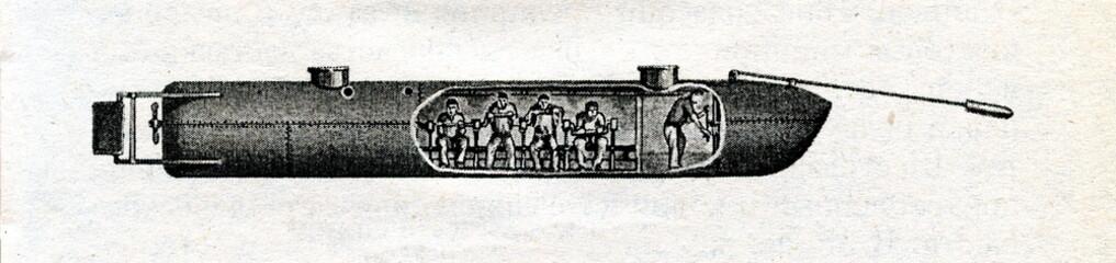 Hunley's submarine