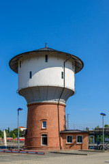 Ehemaliger Wasserturm am Bahnhof Fürstenwalde