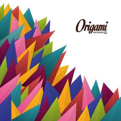 Origami design.