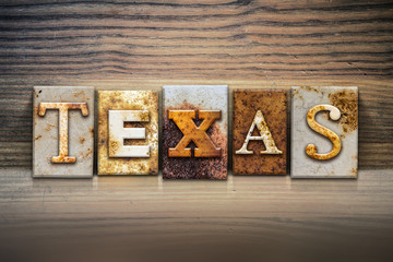 Texas Concept Letterpress Theme