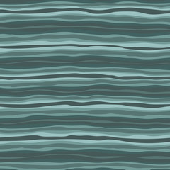 Wave seamless striped abstract background vintage vector