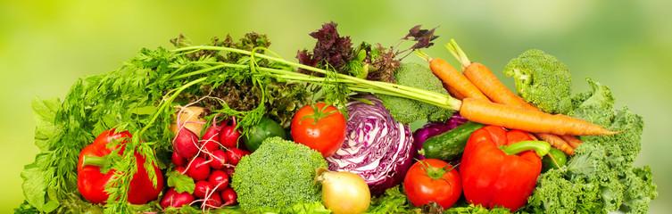 Fototapete - Fresh vegetables.