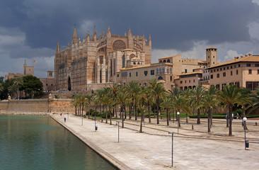 Poster Europese Plekken La Seu - Cathedral of Palma de Majorca