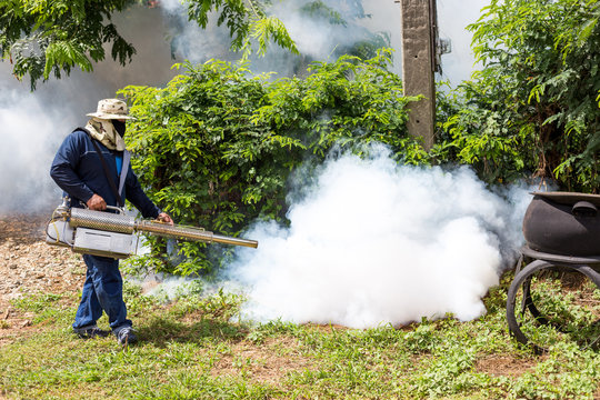 Fumigate mosquito at home for protection mosquito