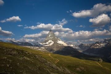 Swiss beauty, under breathtaking Matterhorn
