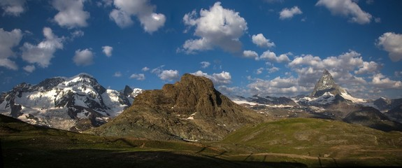 Swiss beauty, under Monte Rosa and breathtaking Matterhorn