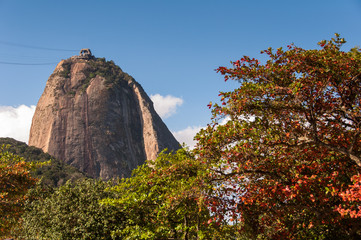 Sugarloaf Mountain and Autumn Colors
