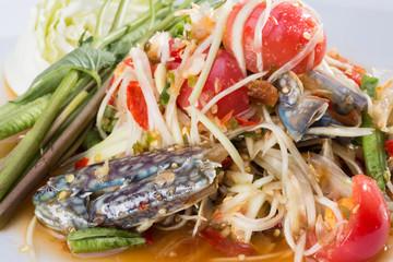 Thai's papaya salad
