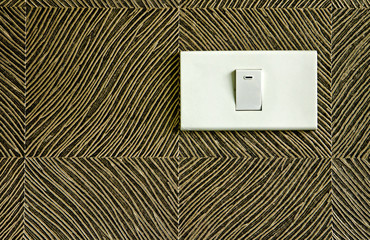 on/off electrical switch.