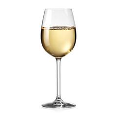 Foto auf Leinwand Wein White wine glass