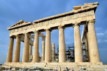 Parthenon on the Acropolis in Athens