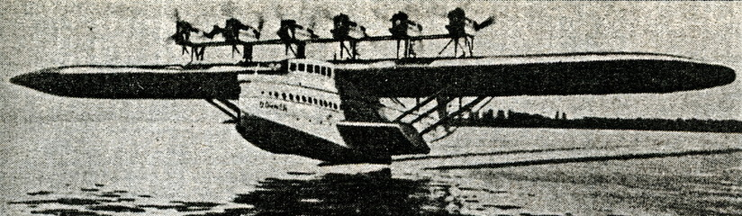Flying boat Dornier Do X