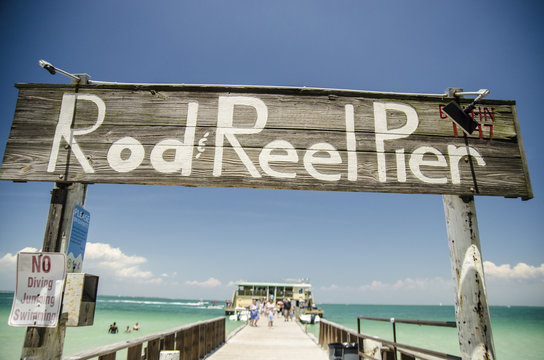 Rod and Reel Pier, Anna Maria Island Florida.