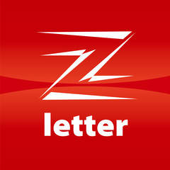 vector logo the letter Z in the form of arrows