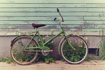 Foto op Plexiglas Fiets Old retro bike.