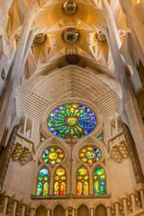 Blessed portal in Sagrada
