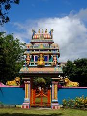 Temple Tamoul à La Réunion