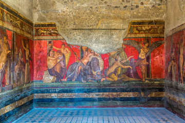 Pompeii city